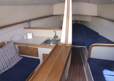 Bay Cruiser 23 Interior