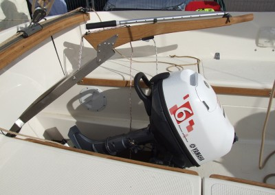 Bay Cruiser 23 Outboard Well