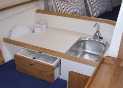 Bay Cruiser 23 Galley